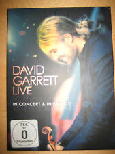 DVD David Garrett - Live In Concert & In Private