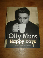 Olly Murs Hand Signed Happy Days HARDBACK.FIRST EDITION 2012