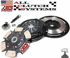 ACS STAGE 3 CLUTCH KIT+CHROMOLY RACE FLYWHEEL 92-00 HONDA CIVIC 1.5L 1.6L SOHC