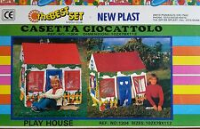 Casetta Giocattolo New Plast The Best Set Pozzaglio 1204 Play House Plastica PVC