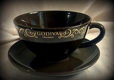 Godiva Chocolate 14 oz. Jumbo Mug with Saucer by California Pantry