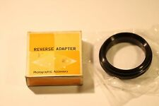 Reverse Adaptor CANON CA55 - Canon FD to 55mm SIREN Mount