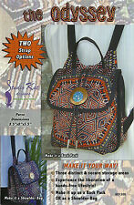 The Odyssey Purse Pattern To Make Pocket DIY Sewing Studio Kat Designs Backpack