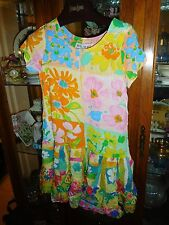 Jams World  RARE Girls Hattie Hawaiian Dress FAB NEW NWT FLORA DORA  M