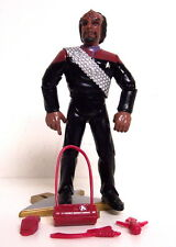 1996 Playmates Star Trek LT. COMMANDER WORF Action Figure. Complete