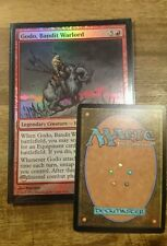 1x GONDO, BANDIT WARLORD - Commander's Arsenal - OVERSIZED -  FOIL