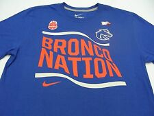 BOISE STATE BRONCOS - BRONCO NATION - NIKE - FIESTA BOWL - 2XL SIZE T SHIRT!