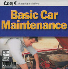 BASIC CAR MAINTENANCE Auto Repair PC & Mac Software NEW