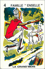 Equitation Equestrianism HORSE SPORT PLAYING CARD CARTE À JOUER HUMOR 60s