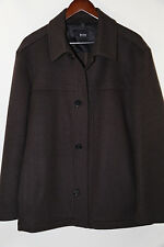 Hugo Boss Black Label 'Chester' Wool & Cashmere Coat  Size 38 R msrp $345  NWOT