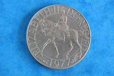 """Elizabeth 11 Crown 1977 (EDGE """"MILLED"""") Very Very nice one"""