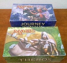 MTG JOURNEY INTO NYX & THEROS ENGLISH BOOSTER 2 BOX LOT FACTORY SEALED