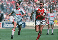 TONY ADAMS In Person Signed 12x8 Photo ARSENAL & ENGLAND Legend Proof COA