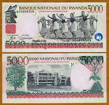 Rwanda, 5000 (5,000) Francs, 1998, P-28, UNC