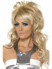 New Womens Girl 1960's Blonde Beauty Sexy Party Beuffant Queen Wig Retro Vintage