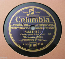 Nice Price: Lucienne Boyer - Parle-moi / Prenez mes Roses COLUMBIA (423)