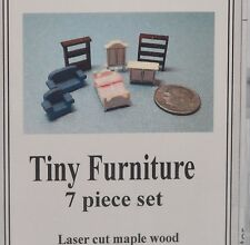 1:144 Dollhouse Miniature Furniture Set Kit/ DIY Miniature DI-FS438