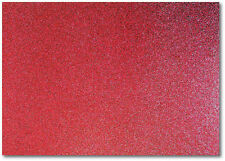 2 x A4 SHEETS OF 220GSM PREMIUM DOVECRAFT DEEP RED WINE GLITTER CARD