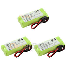 3 Cordless Home Phone Rechargeable Battery 350mAh NiCd for Uniden BT-1008 BT1008