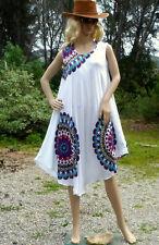 Lagenlook Tunika Kleid Hippie ♥ EG XXL 46 48 50 52 Ibiza Boho