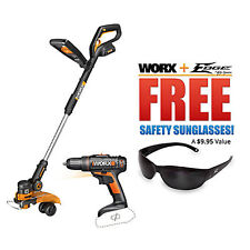 Worx GT 2.0 Cordless Trimmer & Weed Wacker - WG160 (1 Battery)