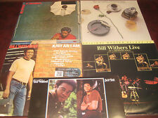 BILL WITHERS AUDIOPHILE SET 180 GRAM 4 LIMITED EDITIONS + HITS LP BONUS 5 TITLES
