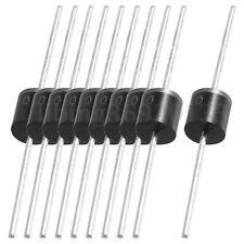 10pcs 1000V 10A 1KV Prueba Industrial Axial Rectificadores Diodos Buena Calidad