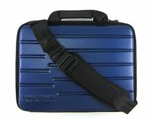 New Paul & Shark blue bag hard case over the shoulder laptop bag attache+GIFT!