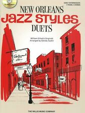 William Gillock New Orleans Jazz Styles Learn to Play Piano Duets Music Book