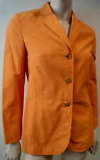 Femme BOGNER orange col v Lapelled à manches longues casual blazer jacket sz: s