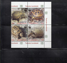 Armenia 2007 WWF Turtles Sc 561-564 complete  Mint never hinged