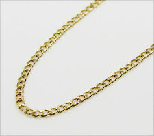10K Gold Italy Cuban Chain 24 Inches 2MM 2 Grams
