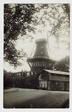 Photo postcard Windmühle MOLEN moulin Młyn (1837)