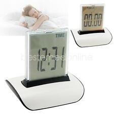 7 Color LED Change Digital Alarm Clock LCD Thermometer Calendar Date Home New