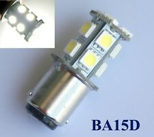 BA15D 1142 13-5050 SMD LED Pure White 6500K bulb Interior light DC 12V