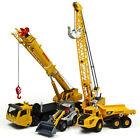 KDW Diecast Mega Lifter Crane Truck Shovel Cable Excavator Model Cars 4 pcs /set