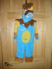 Unisex Baby RUBIES TEANEY MEANY MONSTER Hallowen Jumpsuit Costume Sz 0-6m