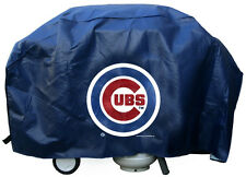 """Chicago Cubs Vinyl Grill Cover [NEW] MLB 68"""" Wide Grilling Barbeque CDG"""
