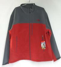 The North Face Men's Apex Bionic Mid-Weight Jacket Rage Red Gray Size 2XL NEW