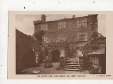 The Courtyard Plas Mawr Conway Vintage RP Postcard TR Hammond 702a