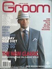 Sophisticated Groom magazine The new clasic Proposing Rings 40 day sex diet