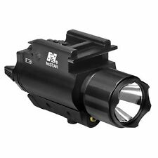 TACTICAL GREEN LASER SIGHT & 3W 200 LUMEN LED FLASHLIGHT & WEAVER QUICK RELEASE