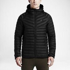 Nike Sportswear 550 Fill Down Hooded Jacket/ Men's Size Large/Black