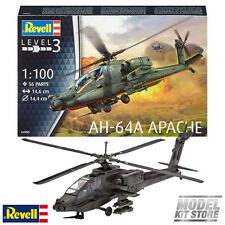 AH-64A Apache - 1/100 Revell Model Military Helicopters #4985 New