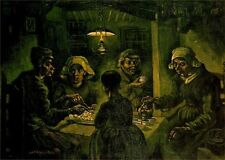 Oil Painting repro Vincent Van Gogh Potato Eaters