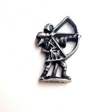 ROBIN HOOD PEWTER HAND MADE LAPEL PIN BADGE