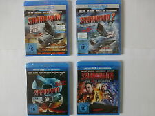 Sharknado Real 3D Teil 1 - 4 Uncut Blu Ray 3D + 2D Version ***Neu Ovp***