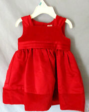 NWT Carter's Tie-Back Fully Lined Dress Girls Size 9 Church Party Holiday Specia