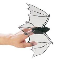 Black Bat Finger Puppets, Folkmanis MPN 2612, 3 & Up, Boys & Girls