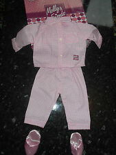 New Boxed Chad Valley Molly And Friends Dolls Pyjamas To Fit Large Dolls 25""